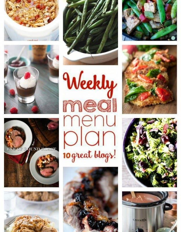 Easy Meal Plan Week 27 from foodiewithfamily.com
