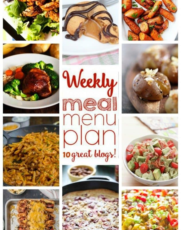 Easy Meal Plan Week 31