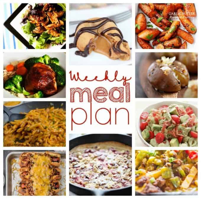 Easy Meal Plan from foodiewithfamily and friends.