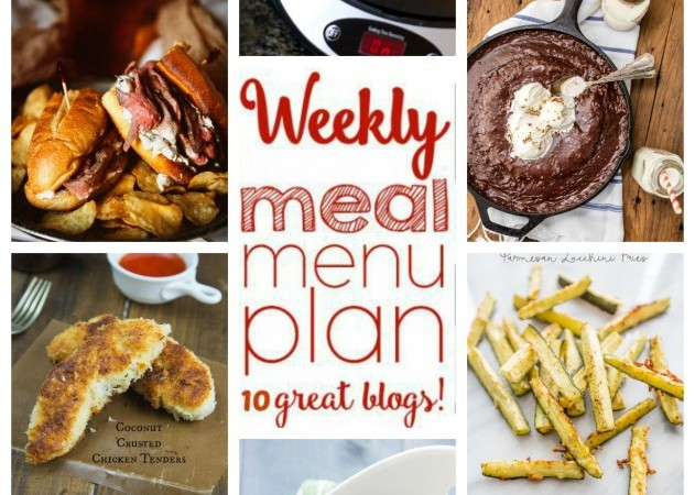 Easy Meal Plan February 22 – 28