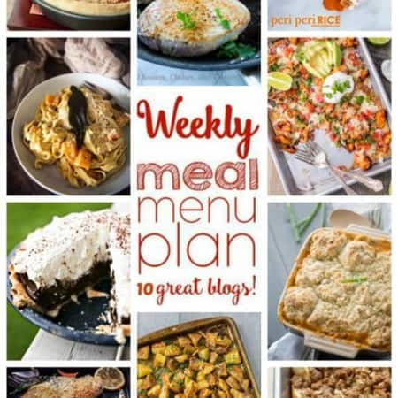 Easy Meal Plan Week 33 from foodiewithfamily and friends