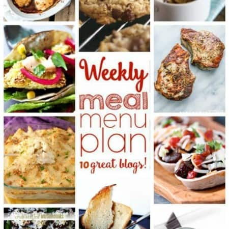 Easy Meal Plan Week 30 from foodiewithfamily.com