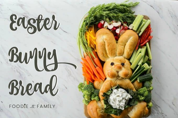 Add the tradition of Easter Bunny Bread to your Easter celebrations; kids and adults alike love it! Bonus: this post has a video tutorial showing how to form the bunny bread!