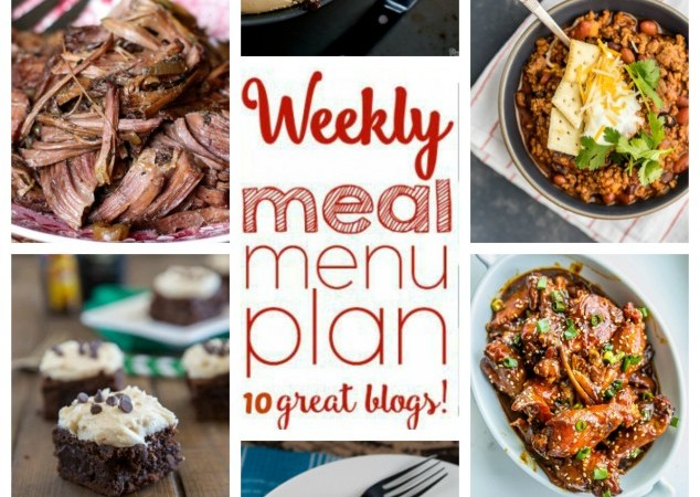 Easy Meal Plan March 7 – 13