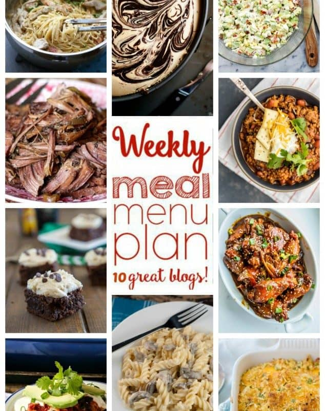 Easy Meal Plan Week 34 from foodiewithfamily and friends