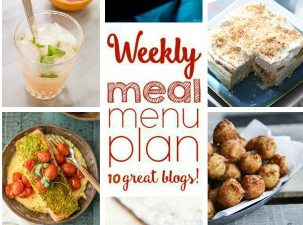 Easy Meal Plan March 21 – 27