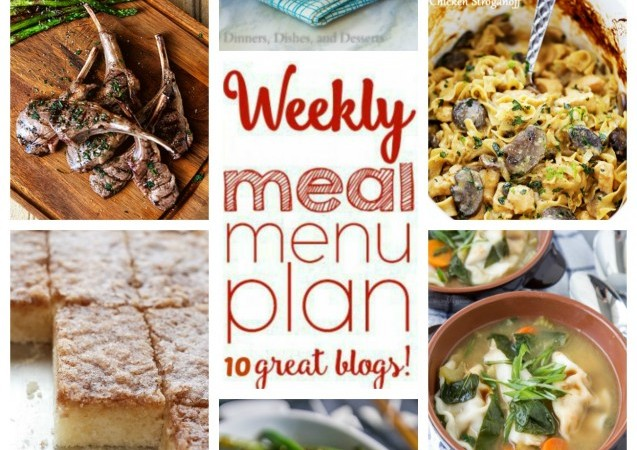 Easy Meal Plan March 28 – April 2