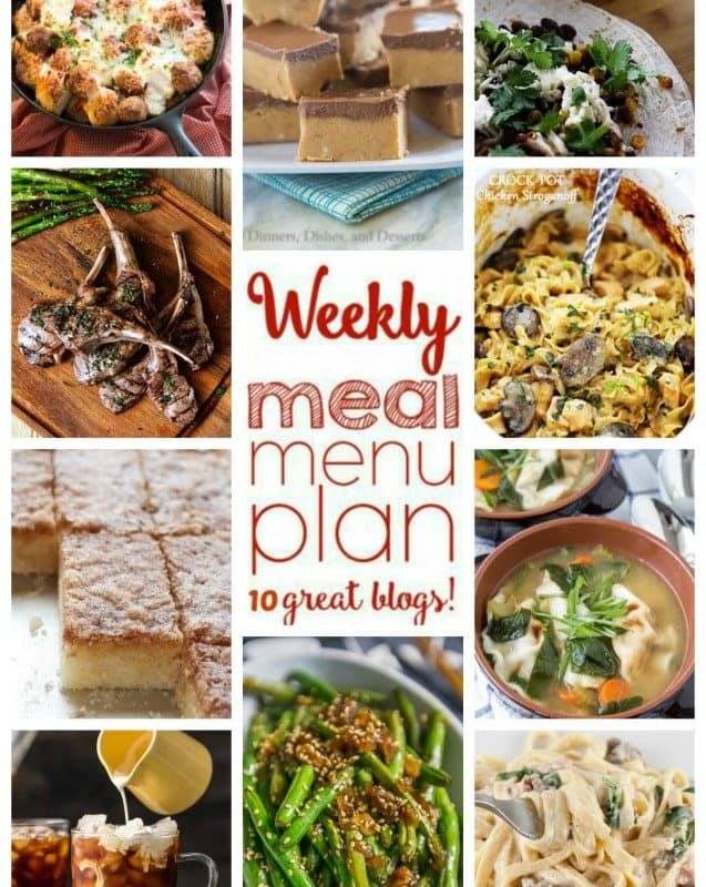 Easy Meal Plan Week 37 from foodiewithfamily and friends