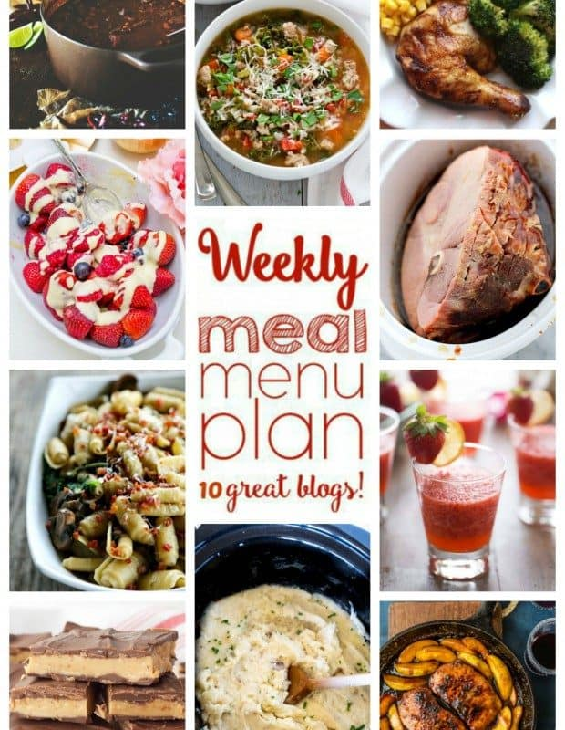 Easy Meal Plan Week 35 from foodiewithfamily and friends.