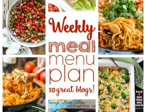 Easy Meal Plan April 3 – 10