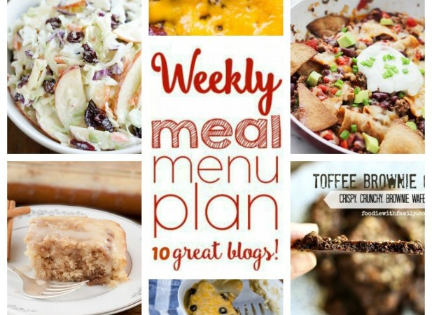 Easy Meal Plan April 11 –  17
