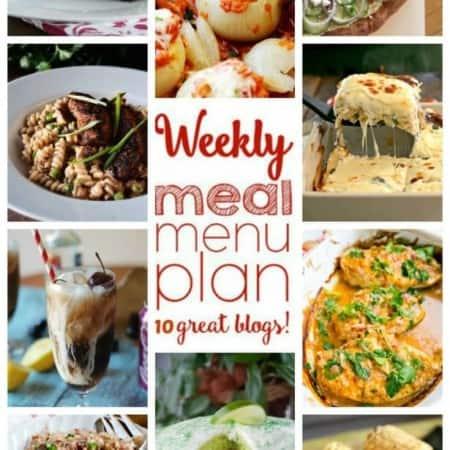 Easy Meal Plan Week 41