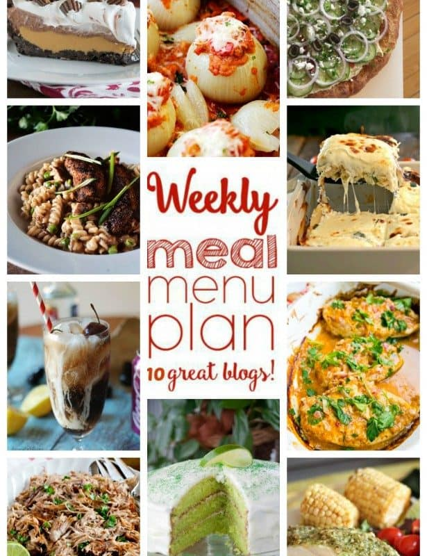 Easy Meal Plan Week 41