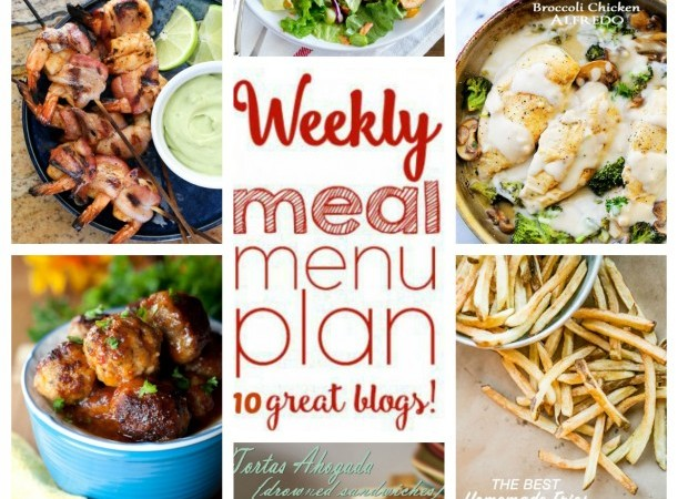 Easy Meal Plan May 2 – 8