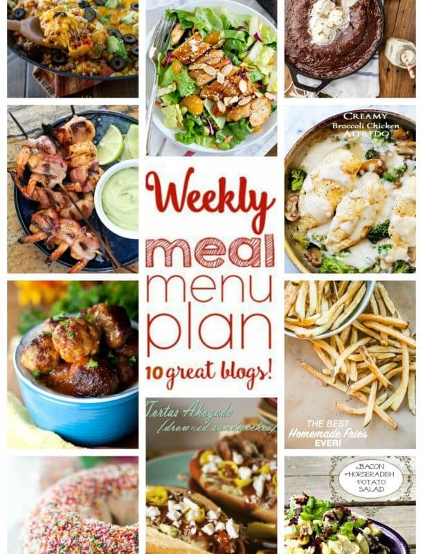 Easy Meal Plan Week 42 from foodiewithfamily.com and friends