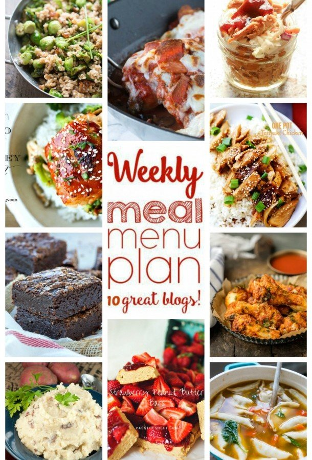 Easy Meal Plan Week 40 from foodiewithfamily and friends
