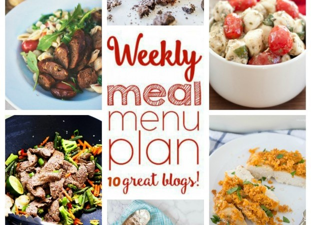 Easy Meal Plan May 8 – 15