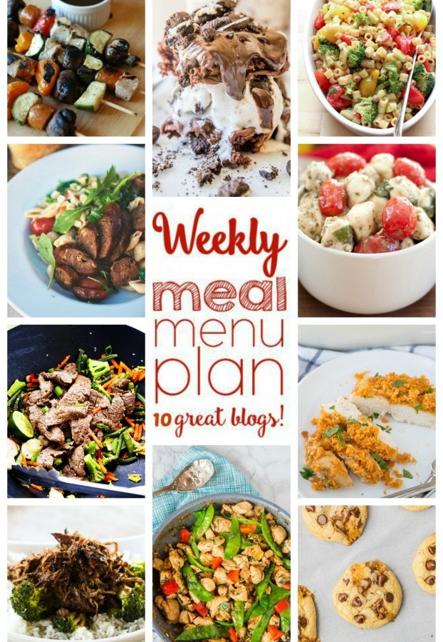 Easy Meal Plan Week 43 from foodiewithfamily.com