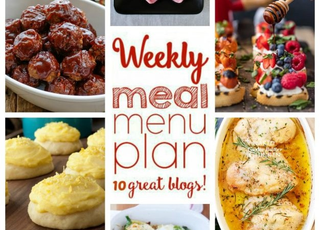 Easy Meal Plan Week 44 May 16 – 22