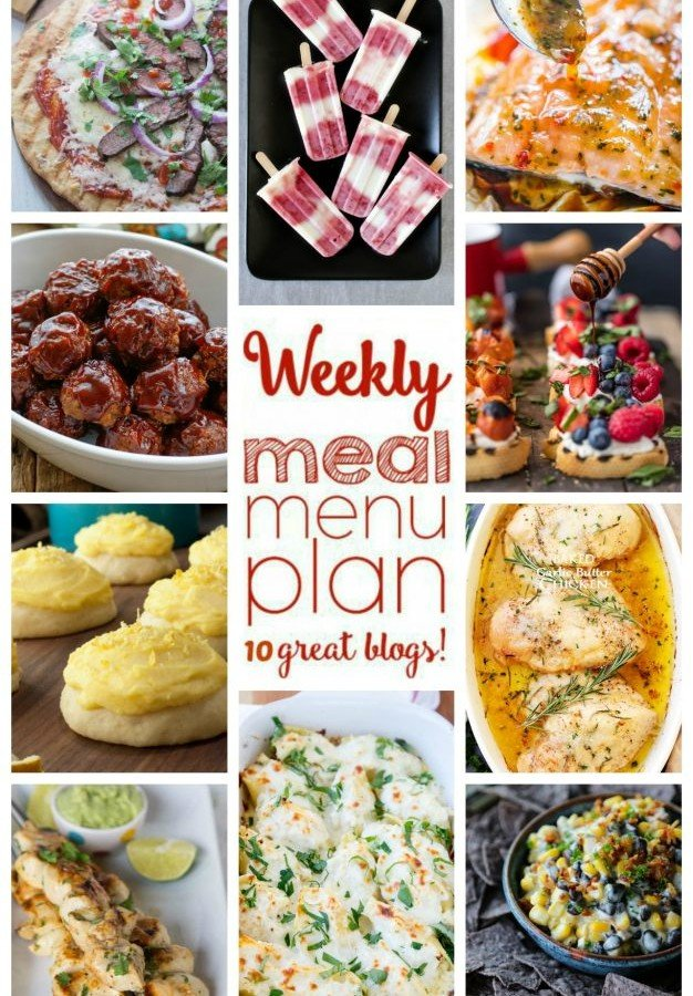 Easy Meal Plan Week 44 from foodiewithfamily and friends.