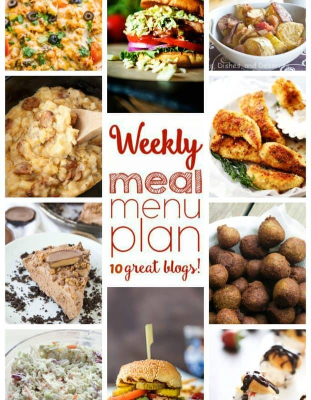 Easy Meal Plan Week 45 from foodiewithfamily and friends