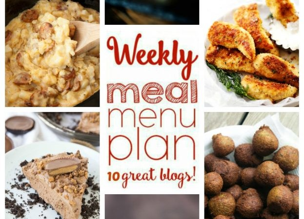 Easy Meal Plan Week 45 May 23 – 29