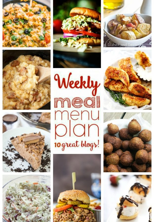 Easy Meal Plan Week 45 from foodiewithfamily.com and friends.