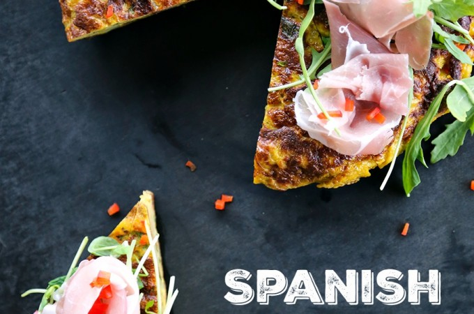 Spanish Tortilla {Spanish Omelette}