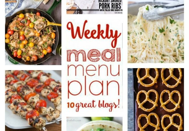 Easy Meal Plan Week Week 49 June 20 – 26