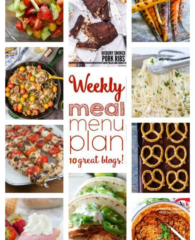 Easy Meal Plan Week 48 from foodiewithfamily.com and friends.