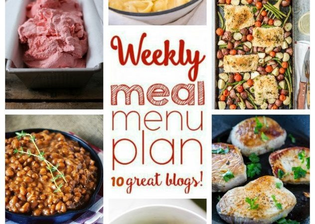 Easy Meal Plan Week 47 June 6 – 12