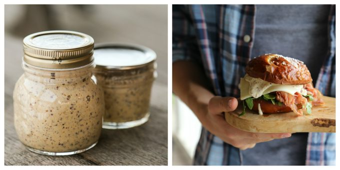 Whole Grain Dijon Mustard from Not Your Mama's Canning Book by Rebecca Lindamood aka Foodie with Family