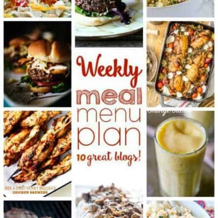 Easy Meal Plan Week 50 June 27 – July 3