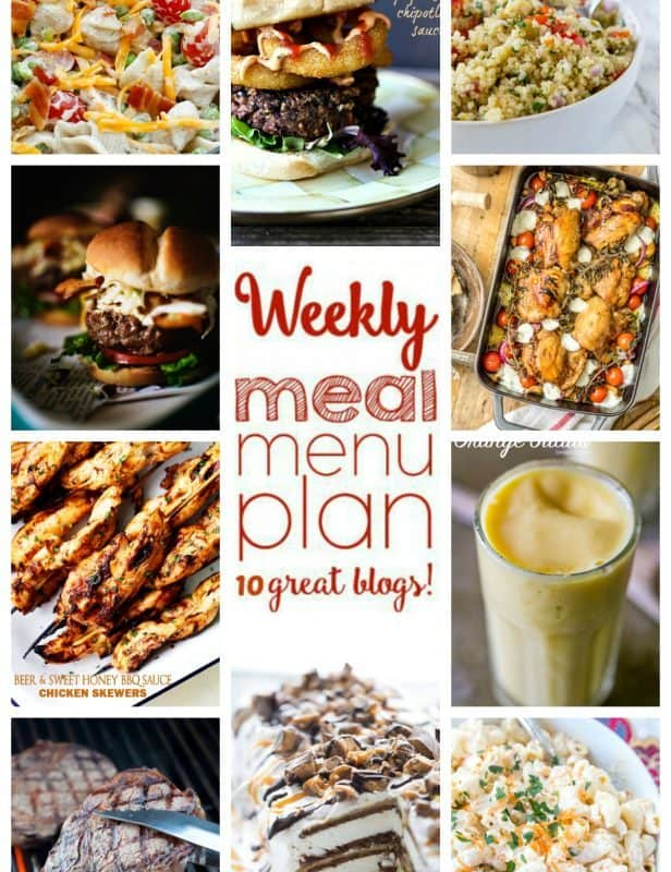 Easy Meal Plan Week 50 from foodiewithfamily.com and friends