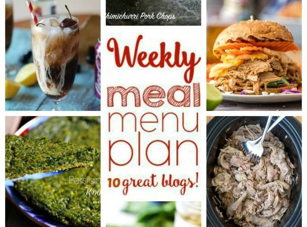 Easy Meal Plan Week 51 July 4-10