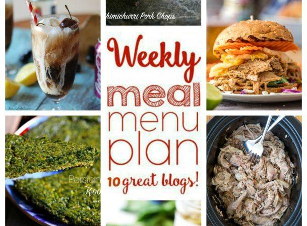 Easy Meal Plan Week 51 July 4-10