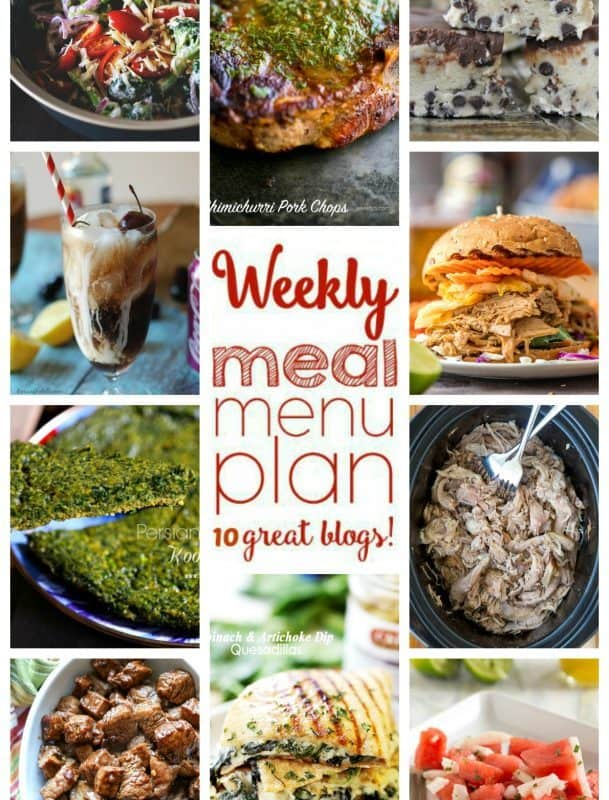 Easy Meal Plan Week 51 from foodiewithfamily.com
