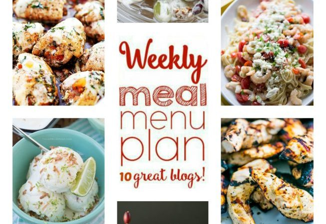 Easy Meal Plan Week 52 July 11 – 17