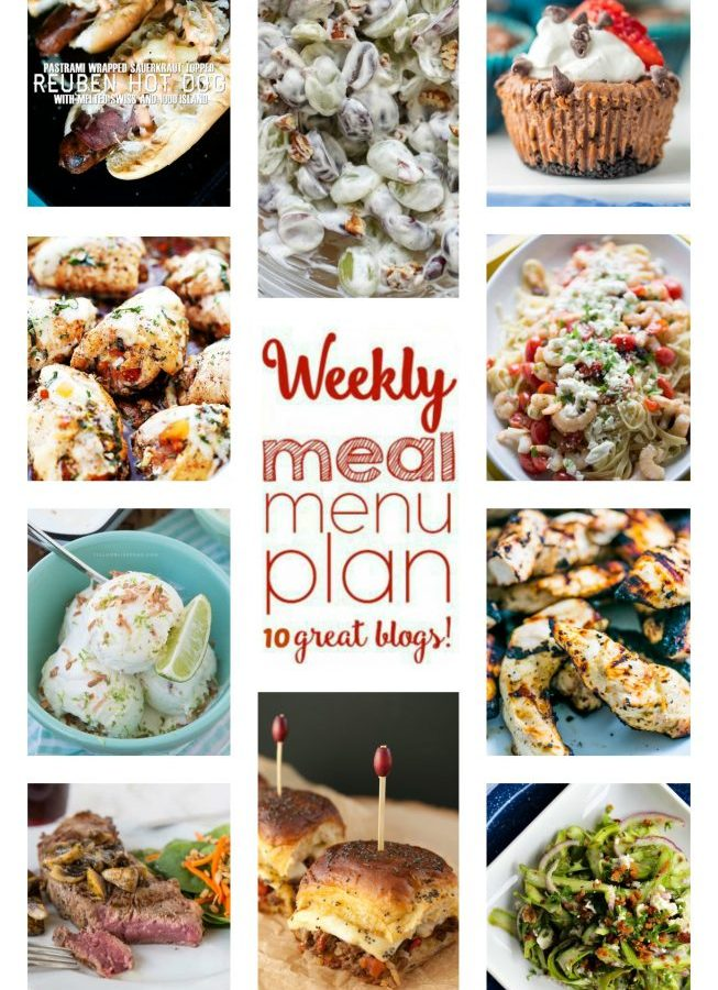 Easy Meal Plan Wee 52 from foodiewithfamily.com and friends.