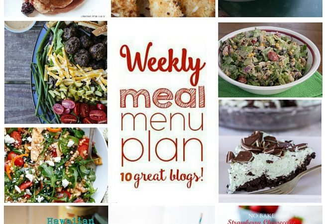 Easy Meal Plan Week 53 July 18 – 24