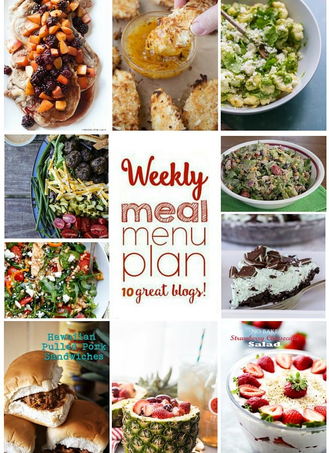 Easy Meal Plan Week 53 from foodiewithfamily.com and friends.