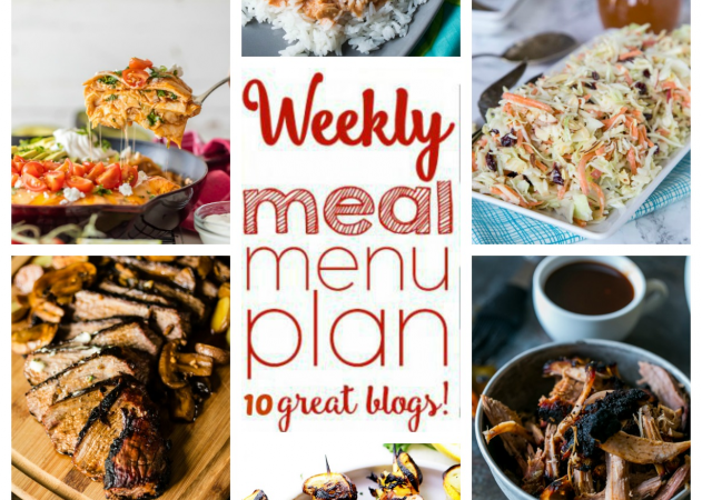 Easy Meal Plan Week 54 July 25 – 31