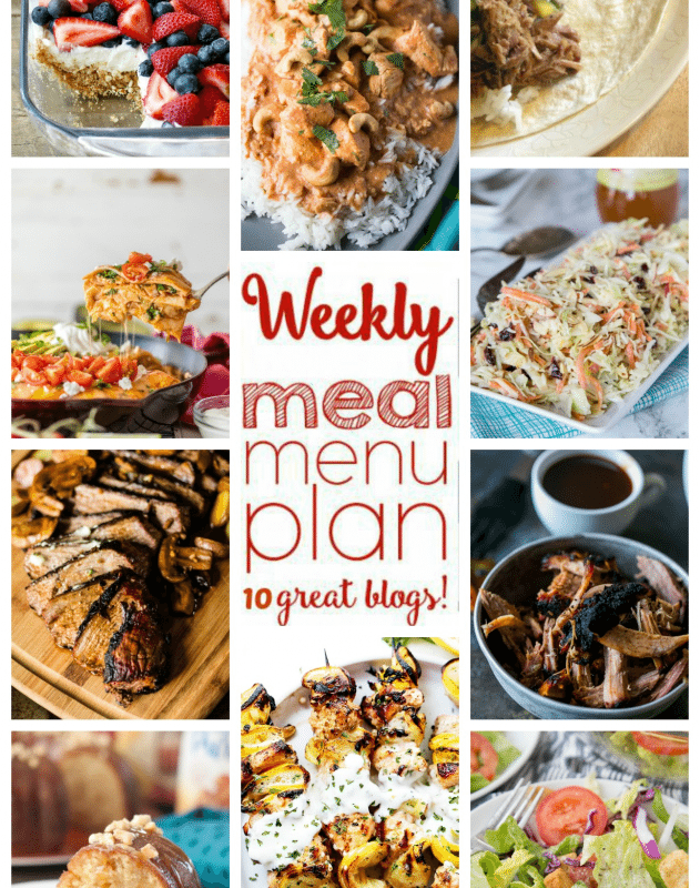 Easy Meal Plan Week 54 from foodiewithfamily.com and friends