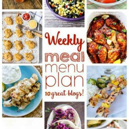 Easy Meal Plan from foodiewithfamily.com and friends.