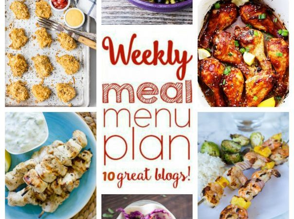 Easy Meal Plan Week 55 August 1 – 7