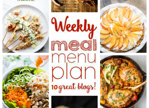 Easy Meal Plan Week 56 August 8 – 14