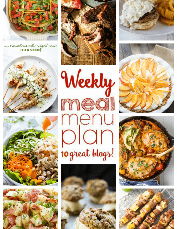 Easy Meal Plan Week 56 from foodiewithfamily and friends.