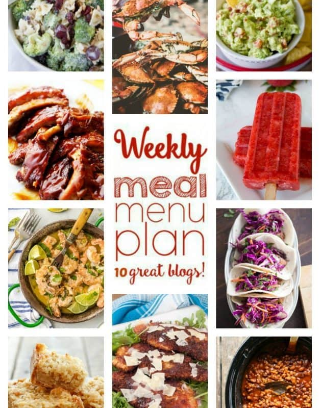 Giveaway + Easy Meal Plan Week 58 August 22 – 28