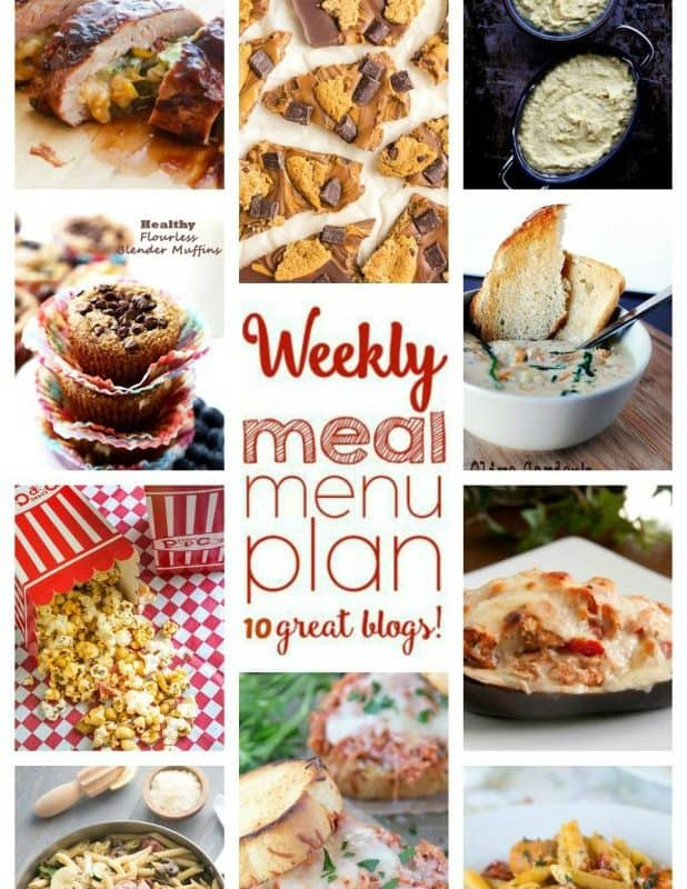 Easy Meal Plan Week 61 from foodiewithfamily.com