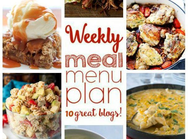 Easy Meal Plan Week 63